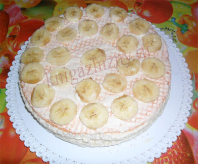 рецепты торта из вафельных коржей с фото